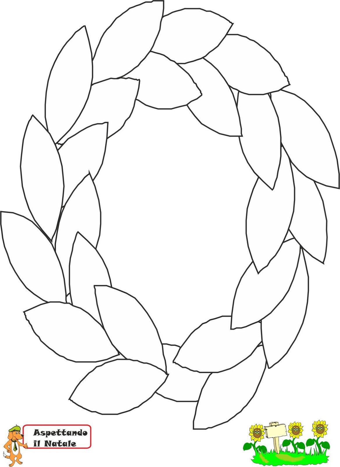 Disegni Da Colorare Corona Dell Avvento Per Bambini Candela