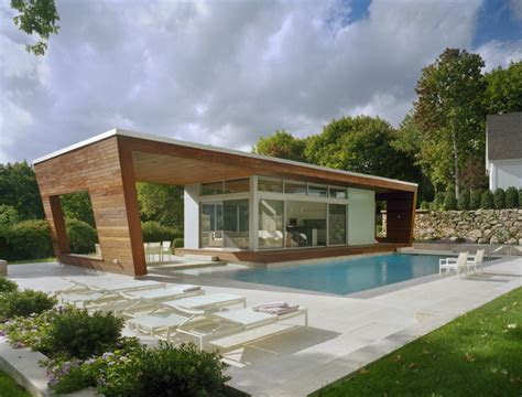 outstanding swimming pool house design  hariri hariri