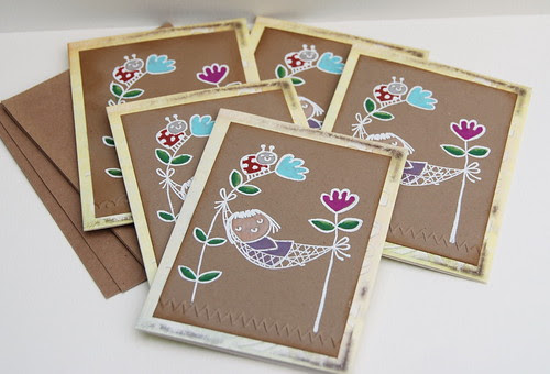 set of note cards (2)