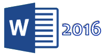 Word 2016 icon