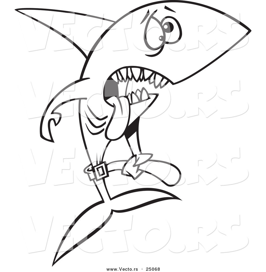 Hungry Shark Coloring Pages at GetColorings.com | Free ...