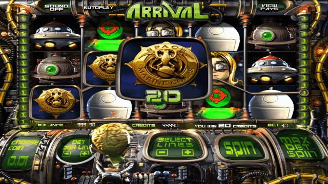 Пришельцы тоже ходят в онлайн казино играть бесплатно в игровой автомат Arrival созданный в.