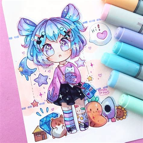 double buns doodles art artsy artist artwork
