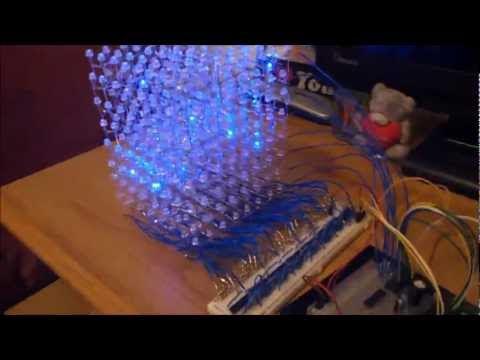 Led Cube 8x8x8 Part 1 Theory Liam Jackson