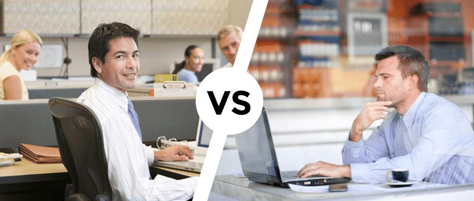 Job vs freelancing