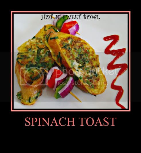 Spinach Toast