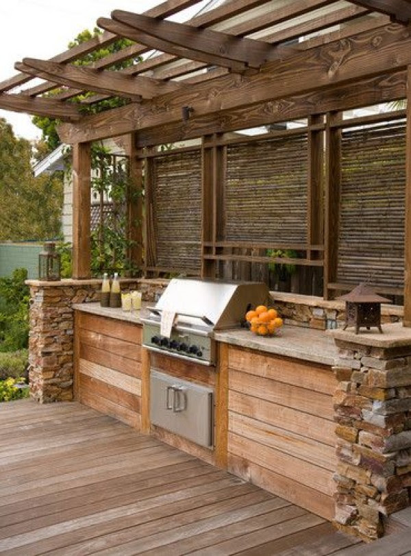 Amazing Outdoor Kitchen Ideas For Enjoyable Cooking Time