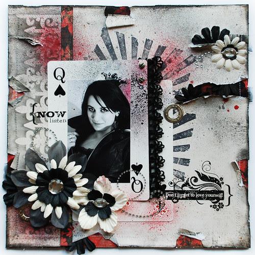 Dama pik - queen of spades