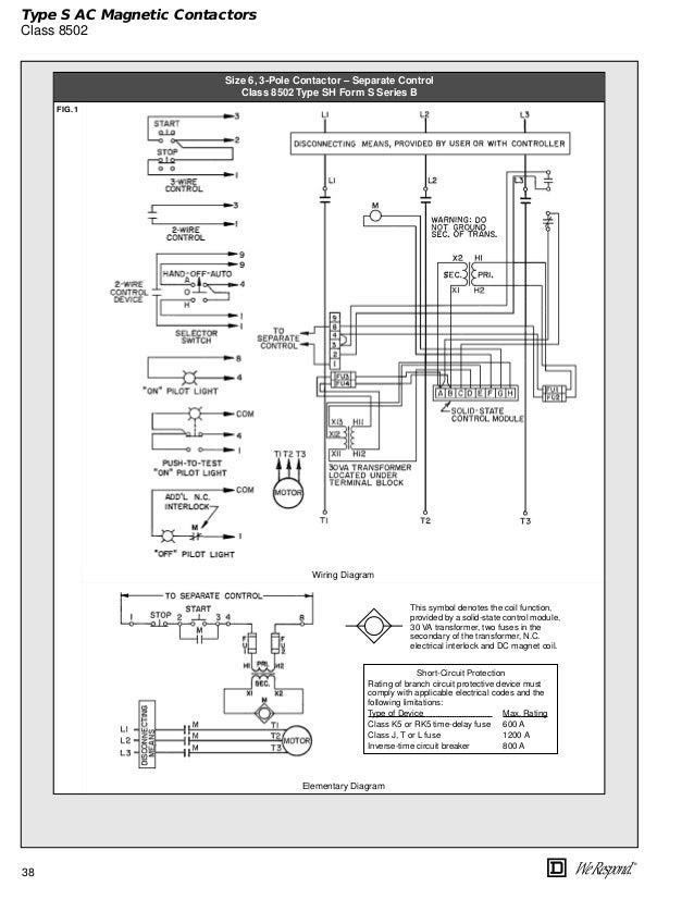 31 Square D Relay Wiring Diagram - Free Wiring Diagram SourceFree Wiring Diagram Source