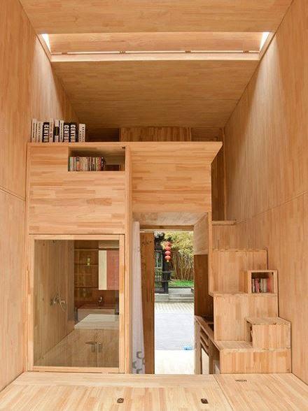 Căn nhà gỗ có thể chuyển được