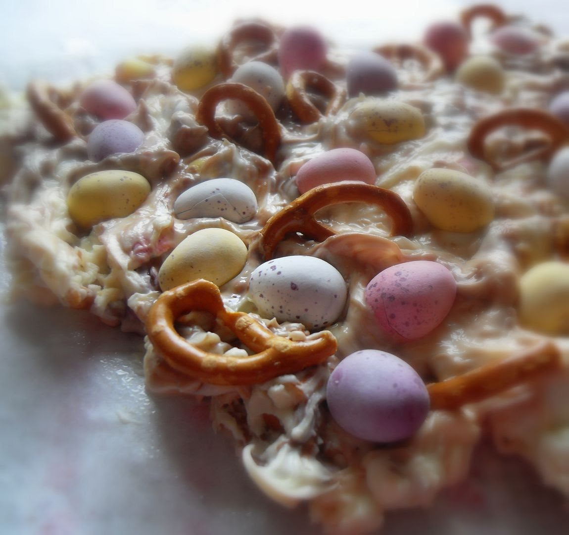 Sweet and Salty Easter Bark