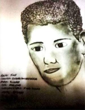 Segundo a polícia, vítima reconheceu retrato falado do estuprador (Foto: Divulgação/Polícia Civil)