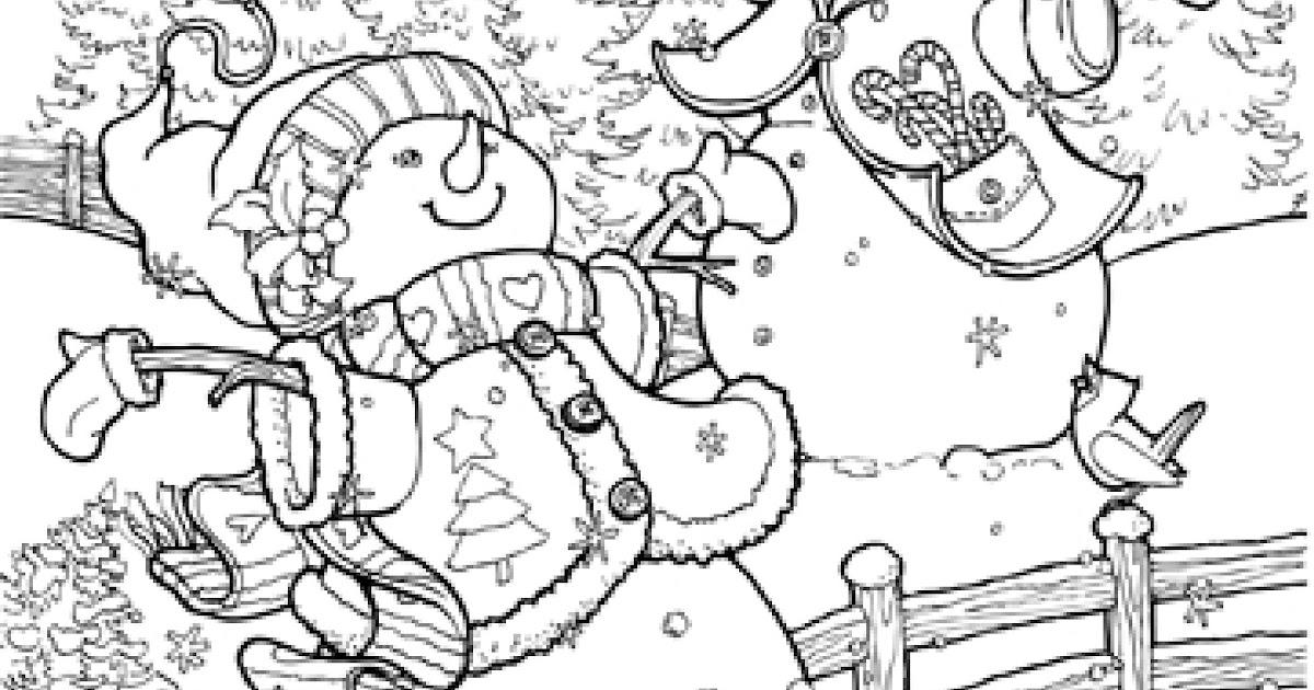 malvorlagen weihnachten ausmalbilder winter  malvorlagen