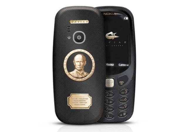 Cavier Nokia 3310 Supremo Putin