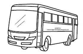 Sketsa Motor Mudah