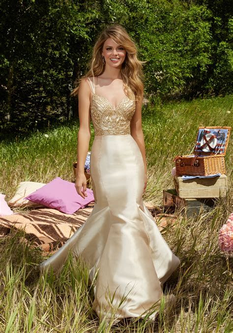 Satin Prom Dress with Sweetheart Neckline   Style 99013