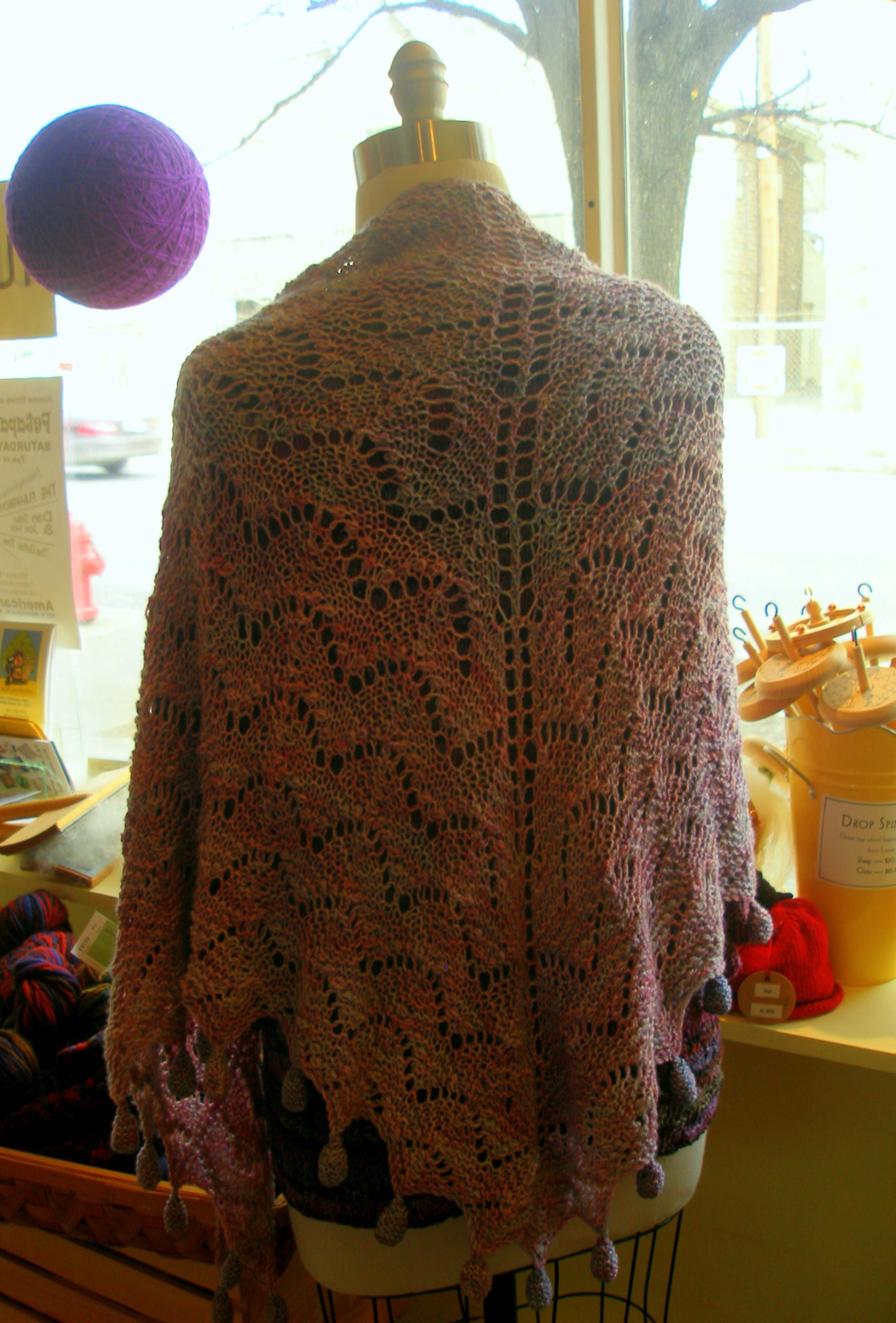 pocket meadow farm shawl