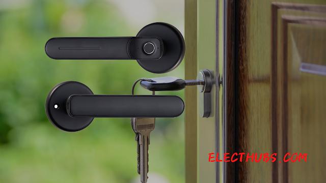 【智能門鎖】Freedom 電動指紋智能門鎖 支援錄入多組指紋、無需 WiFi