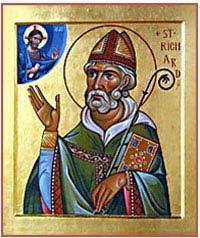 Saint Richard de Chichester. Chancelier de l'université d'Oxford, évêque de Chichester († 1253)
