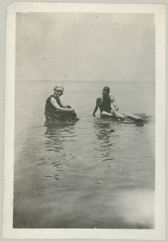 Couple in the water