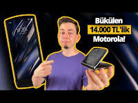 Katlanabilen tek kameralı telefon Motorola Razr 5G elimizde! - ShiftDelete.Net