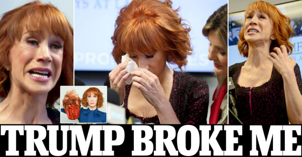 Kathy Griffin claims Trump family ruined her life