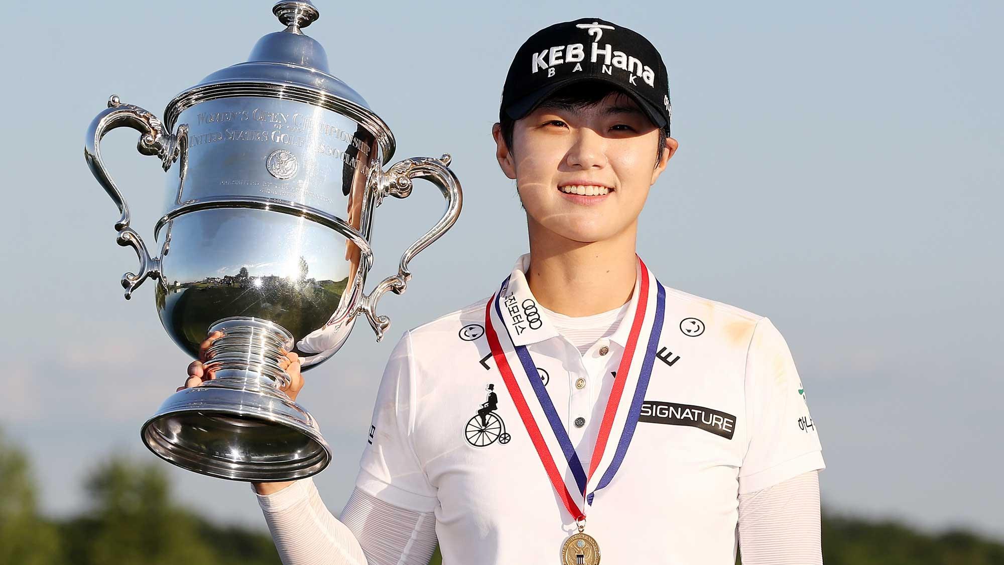 Defending champion Sung Hyun Park