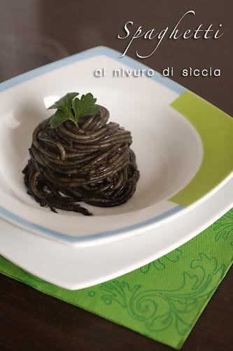 Spaghetti al nìvuro di sìccia