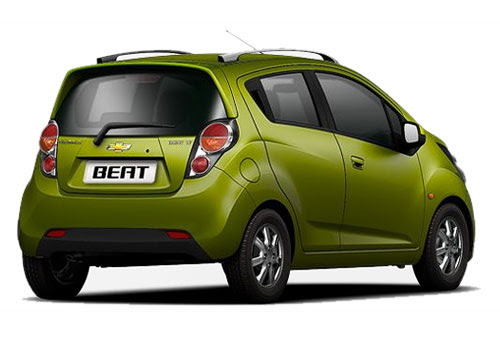 Chevrolet Beat Rear Angle View