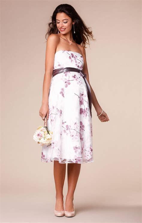 Ocean Maternity Gown Short Cherry Blossom   Maternity