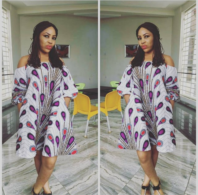 Trending Ankara Gowns For Ladies Who Wants To Stand Out In 2019
