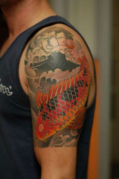 49 Beautiful Shoulder Half Sleeve Tattoos