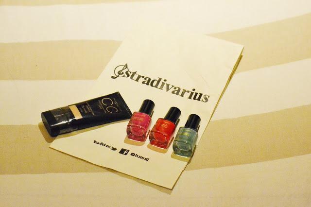 Stradivarius Magazine and Maxfactor
