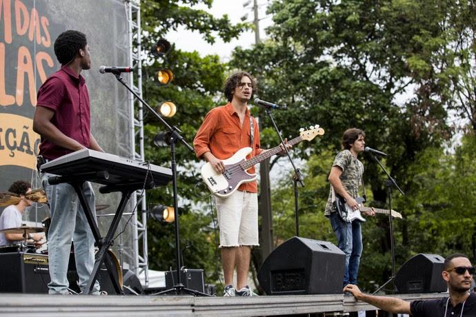 Banda 4.4 arrasa no festival (Foto: Ellen Soares / Gshow)