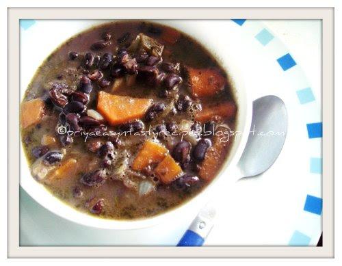 Brazilian Black Beans Stew