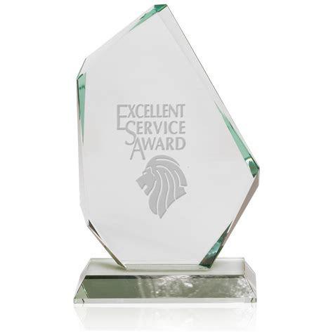 Custom Jade Glass Recognition Awards   DMAW31   DiscountMugs