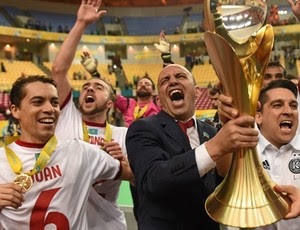 Cacau - Kairat - futsal - Cazaquistão (Foto: Sportsfile/Uefa)