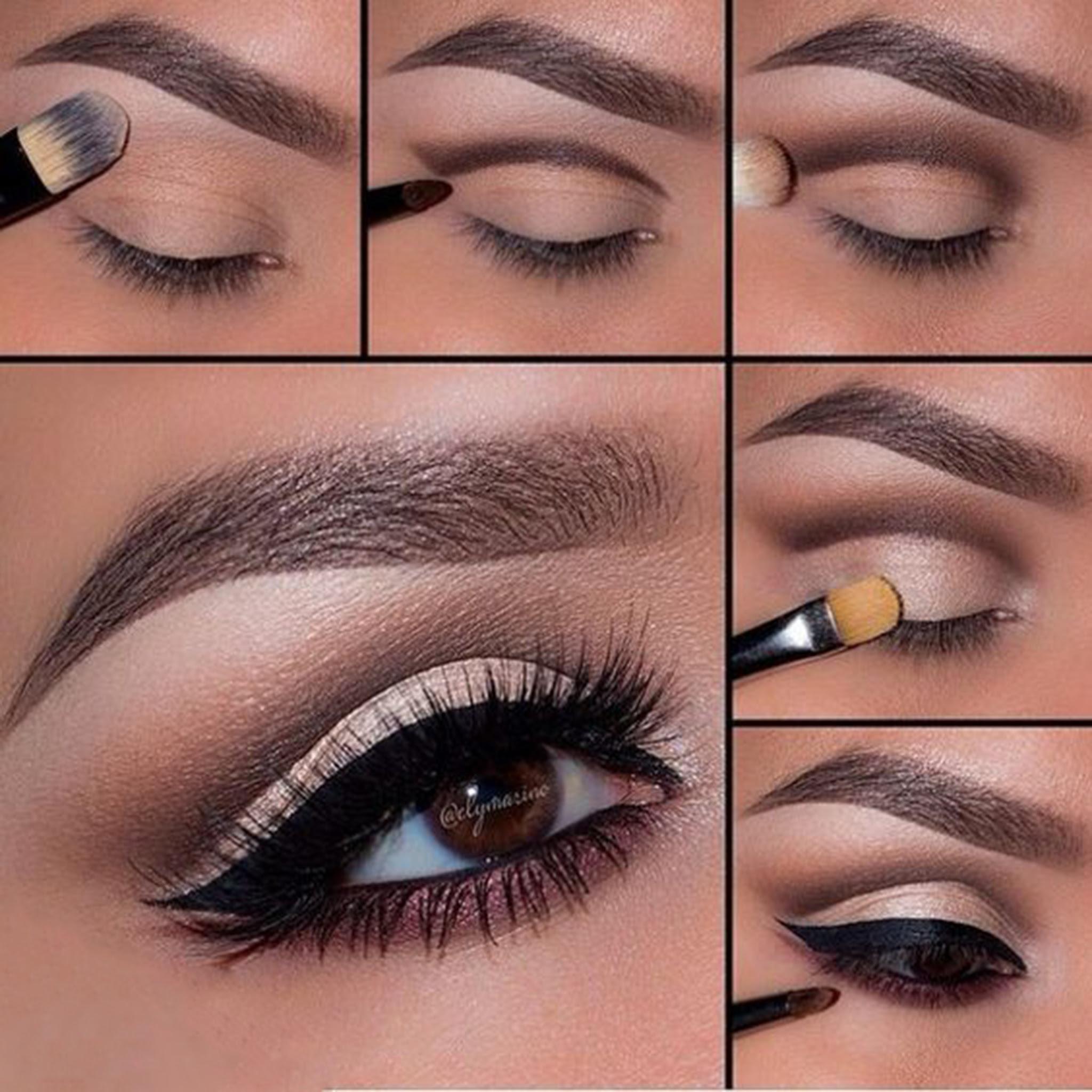 5 Step By Step Smokey Eye Makeup Tutorials For Beginners ...