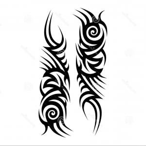 Tattoo Sleeve Vector At Getdrawingscom Free For Personal Use