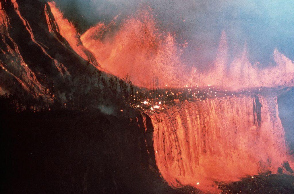 erupción de kilauea, 1969-1974 Mauna Ulu Eruption, Kilauea 1969-1974 Mauna Ulu Eruption, 1969-1974 Mauna Ulu Imágenes de erupción, 1969-1974 Mauna Ulu Eruption usgs