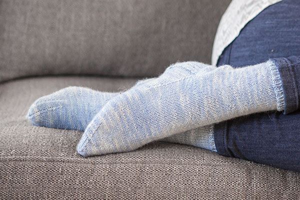 Go Your Own Way Socks - Knitting Pattern