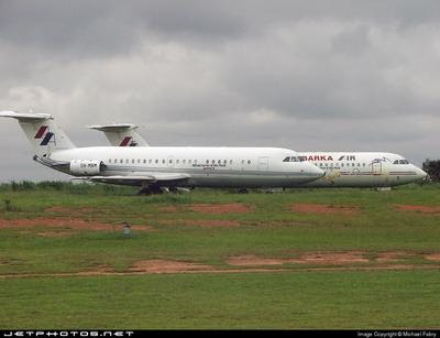 Abandoned BAC1-11s in Abuja