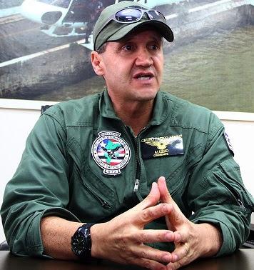 Ex-secretário de Segurança, Aluísio Mendes usa helicóptero do GTA para fazer campanha