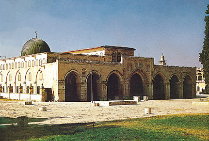 The Aqsa Mosque in Jerusalem