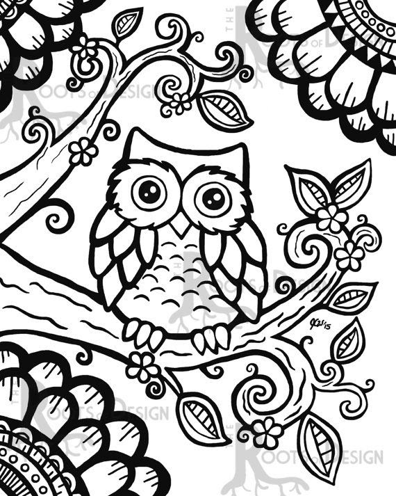 Cute Printable Coloring Pages For Adults - Coloring And Drawing