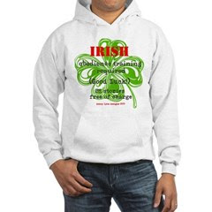 Irish BS Men's Hooded Sweatshirt