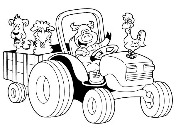 Vedkokeven Blogspot Com Dessin A Imprimer Tracteur