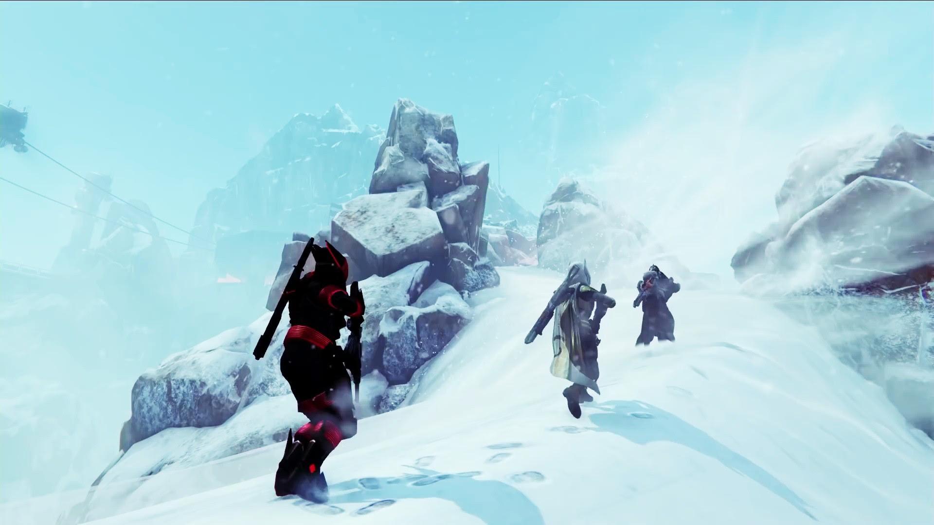 Destiny Rise Of Iron Snow Wallpaper 00678 Baltana