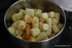 Baby corn step 1