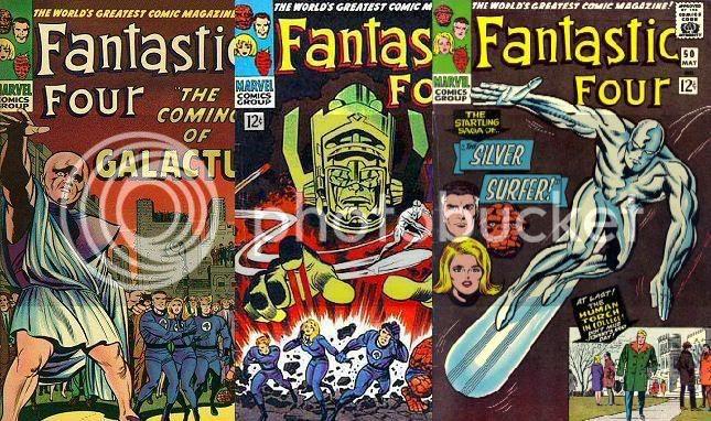 Fantastic Four 48 a 50